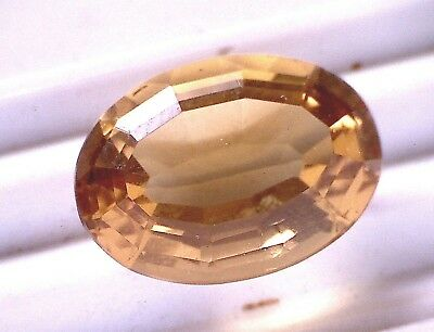 N201. ABSOLUTER TOP CITRIN 7,95 KARAT / 15,8 x 10,9 x  7,8 mm 1A GOLDSCHMIED ++