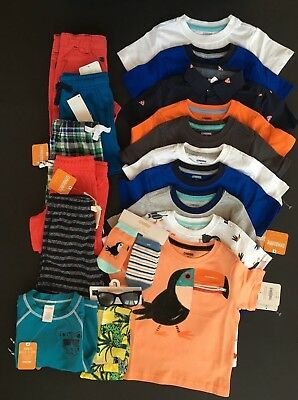 Gymboree Boys Size 2T Huge Lot Outfits Summer Spring Nwt $342
