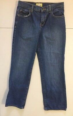 boys denim pants by Old Navy Strait Jeans Size 12 husky Play Everyday School