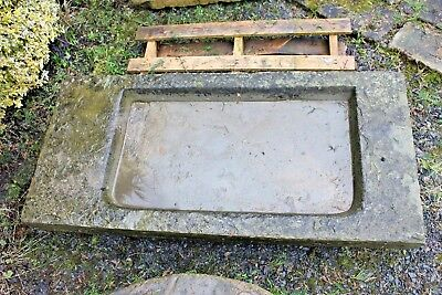 Stone Trough Sink Sedums Vintage Antique 1.4 m - Yorkshire Dales Reclaim