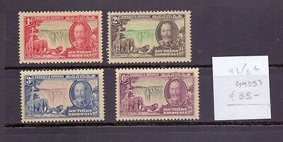 ! Southern Rhodesia 1935. Stamp. YT#31/34. €35.00 !
