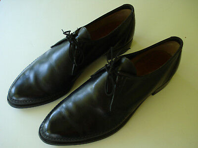 Sharp looking sz 10C pre-owned moc toe oxford by Wall Streeter made USA exlent!