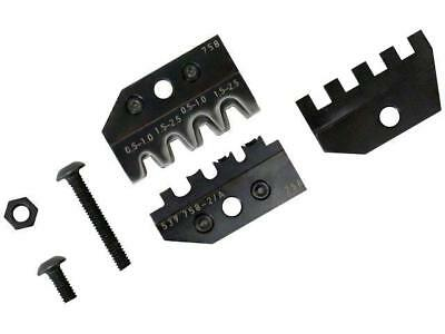 539758-2 Crimping jaws non-insulated terminals 0,5÷1,0mm2,1,5÷2,5mm2
