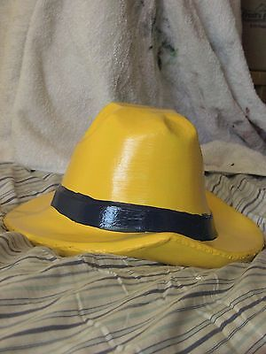 Rastus Sr. Concrete Hat......Color of your choice..w. Metal ..Clear Coated.