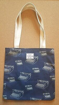 Navy blue Strand Book Store  Tote Bag from NYC