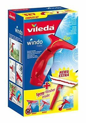 Vileda Windomatic Aspirateur à Vitres Set Complet