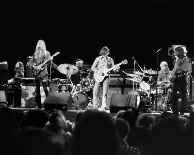 American Rock BAND ALLMAN BROTHERS Glossy 8x10 Photo Music Print Poster Print