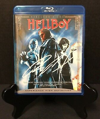 Hellboy Signed by Ron Perlman- Director's Cut Blu-Ray