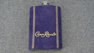 (B1) Crown Royal 8 OZ Flask with cover
