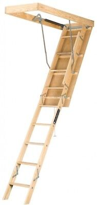 Louisville Attic Ladder Stairs Steps Paintable Adjustable Climbing Heavy Duty