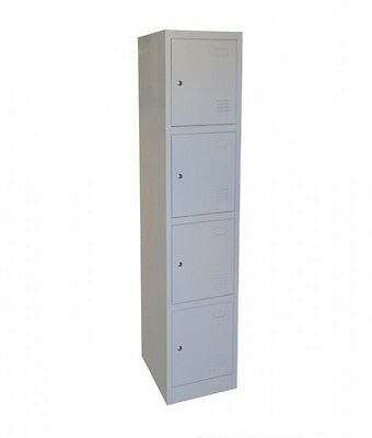 4-Door Metal Storage Locker (USED)