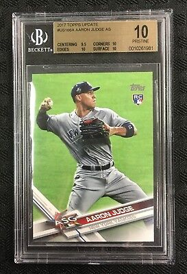 Aaron Judge 2017 Topps Update All Star Game * Bgs Pristine 10 * Yankees