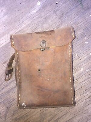 WW2 US Army Signal Corps EE-8-B Field Telephone,Stromberg-Carlson,Leather Case