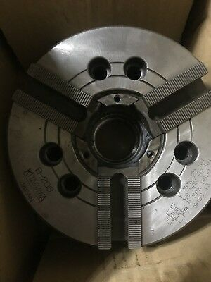 "Kitagawa 6""   3-Jaw, Power Chuck, B-206"
