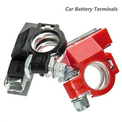 12V 3Way Positive Negative Battery Terminals Connectors Clamps Car Van Motorhome