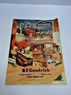 1955 BF Goodrich Christmas Catalog Toys Bicycle Trains Nice Collector Reference