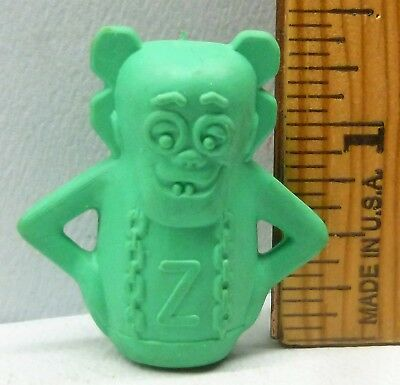 Franken Berry Figural Pencil Topper Eraser Cereal Premium General Mills EX Orig