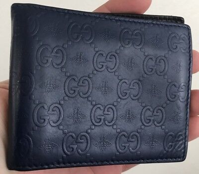 d092cc70d13707 AUTHENTIC NEW GUCCI GG Guccissima Brown Leather Magnetic Money Clip ...