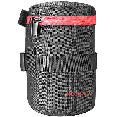 Neewer NW-L2040-R Thick Padded Water Resistant Lens Pouch Bag for 18-300MM Lens