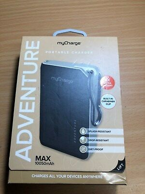 myCharge - Adventure Max 10,050 mAh Portable Charger for Most USB-Enabled Dev...