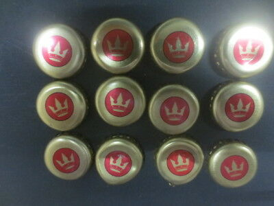 12 Carlton CROWN  BEER Australian Issue Bottle caps/tops  collectable