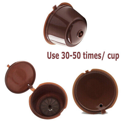 Capsule Pod Coffee Filter Cup Holder for Nescafe Dolce Gusto Reusable i cafilas