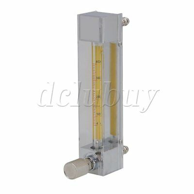 LZB-3 4-40ml/min Clear Unidirectional Liquid Non-pulsating Flow Meter