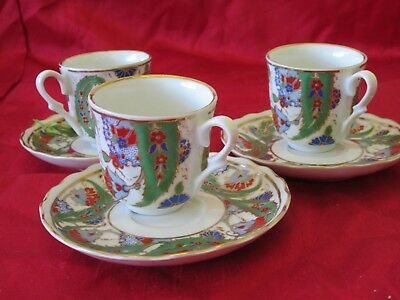 jemma Chinese porcelain cups and saucers