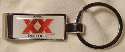 Dos Equis Beer - Key Chain - Bottle Opener - Stainless Steel ..Very Cool..NEW
