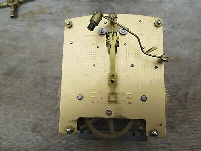 A Smiths Enfield Standard Striking Mantel Clock Movement P/p On Payment