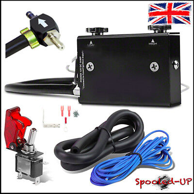 UNIVERSAL DUAL STAGE BOOST CONTROLLER CONTROL VALVE fits DIESEL PETROL TURBO