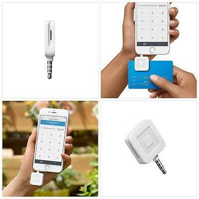Square Credit Card Magstripe Reader Works W/ iOS Android Cellphone Accessories
