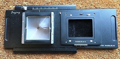 Hasselblad H back adapter to view camera - See Notes