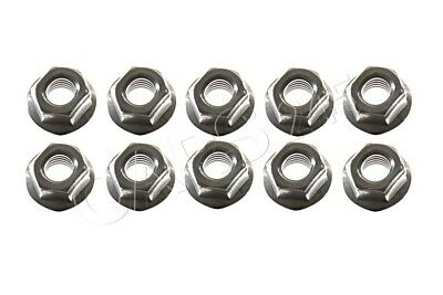 Genuine Hex Nut With Flange M8-8-ZNNIV SI x10 pcs BMW 07119905977