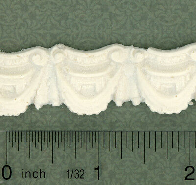 Dollhouse Miniature Decorative Trim Molding by Unique Miniatures