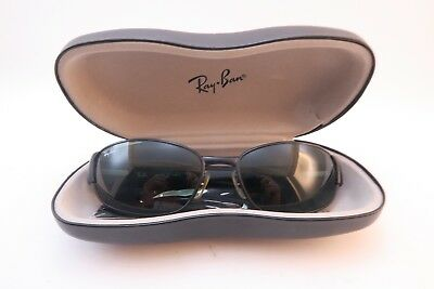 Vintage Ray Ban sunglasses RB 3141 LEATHER II size 60-18 made in Italy