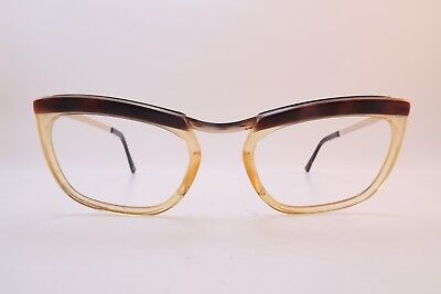 Vintage 50s gold filled eyeglasses frames Size 50-20 Doublé Or Laminé France