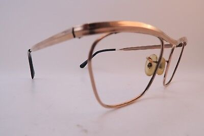 Vintage gold filled eyeglasses frames ALGHA 20 England 50-20 men's small/medium