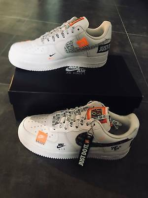 68c5790c6f1 NIKE AIR FORCE 1  07 Premium JDI  Just Do It Pack  White White ...
