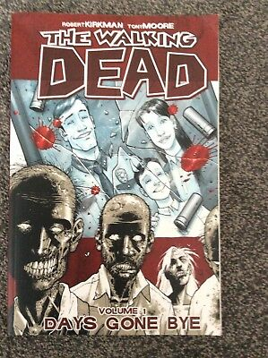 The Walking Dead Graphic Novel Volume 1 Days Gone Bye Very Good Condition