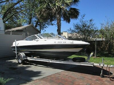 2005 regal 1800 18 ft  runabout with trailer and cover