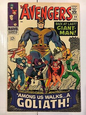 The Avengers #28 - 6.0 - First Appearance of  the Collector (May 1966, Marvel)