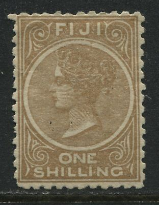 Fiji QV 1881 1/ yellow brown mint o.g.