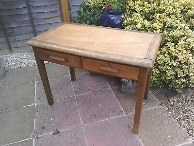 Antique Two Draw Pine Table.