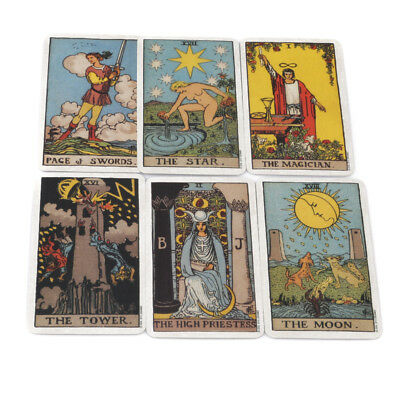 Smith Waite Tarot 78 Cards Deck Pamela Colman Classic Board Game Future Telling