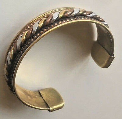 Ancient VIKING Bronze Bracelet museum quality artifact VERY Stunning Twisted