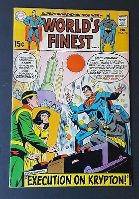 World's Finest Comics #191 GD/VG (Feb 1970, DC)