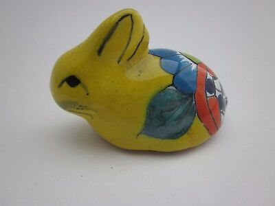 Beautiful Mexican Talavera Pottery BUNNY / RABBIT