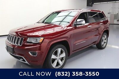 Jeep Grand Cherokee Overland Texas Direct Auto 2016 Overland Used 3.6L V6 24V Automatic RWD SUV Moonroof
