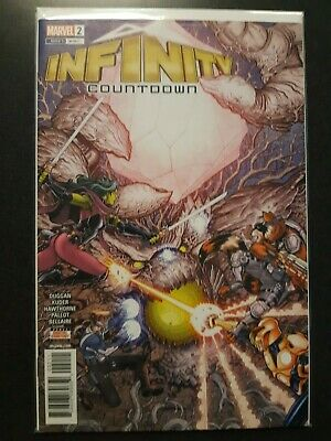 INFINITY COUNTDOWN #2 Bradshaw 1st Print Marvel Comic NM Guardians of the Galaxy